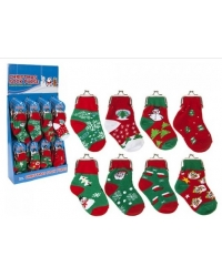 48 x Christmas Sock Purses