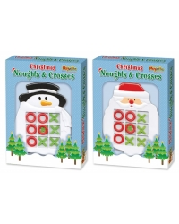 Image of Wrapped Grotto Toys - Santa/Snowman Noughts & Crosses x12