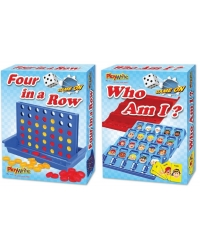 Image of Wrapped Grotto Toys - Who Am I / 4 In A Row Games x6