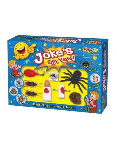 Wrapped Grotto Toys - 8 Piece Joke Sets x6