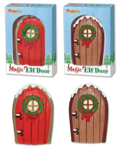 12 x Christmas Magic Elf Doors