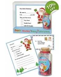 Image of 12 x Deluxe Letter To Santa Sets