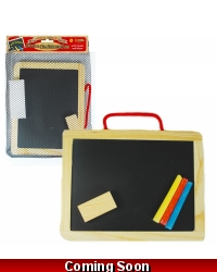 Image of Wrapped Grotto Toys - Wooden Chalkboards x12