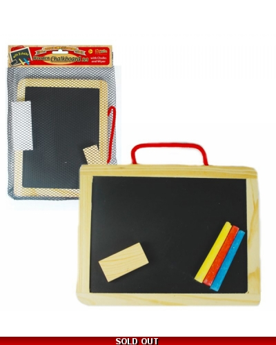 Wrapped Grotto Toys - Wooden Chalkboards x12