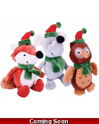 Image of Wrapped Grotto Toys - Plush Winter Animals x12