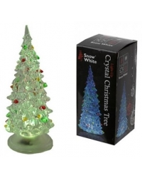 Image of 12 x Colour Changing Christmas Tree 13cm