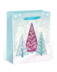 Image of 12 x Deluxe Large Glitter Tree Gift Bags