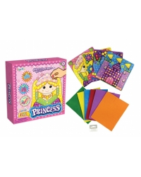 Image of 12 x Princess Mosaic Picture Art Sets
