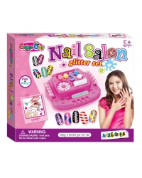 Image of 6 x Deluxe Nail Salon Glitter Sets
