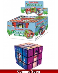 Image of 12 x Christmas Puzzle Cubes