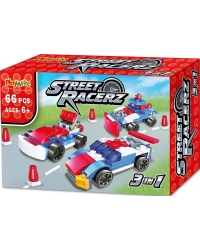 Image of 24 x Street Racerz 3in1 Building Brick Sets