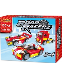 Image of 6 x Road Racerz 3in1 Building Brick Sets