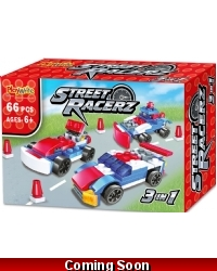 Image of Wrapped Grotto Toys - Street Racerz 3in1 x 24