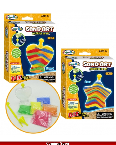 Wrapped Grotto Toys - Pocket Sand Art  x24