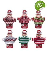 Image of 36 x Christmas Elf Knitted Sweaters