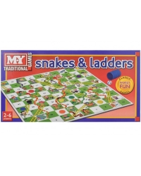Image of 6 x Boxed Snakes & Ladders Board Games