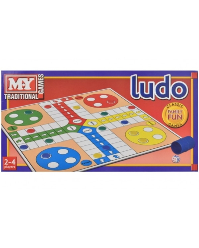 6 x Boxed Ludo Board Games
