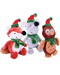 Image of 12 x Plush Woodland Animal Friends 18cm