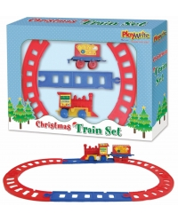 Image of 12 x Clockwork Christmas Train Sets