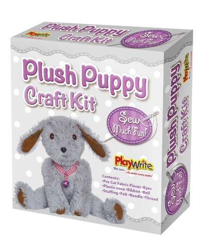 6 x Sew Your Own Plush Puppy Craft Sets