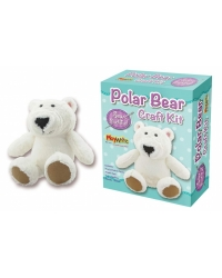 Image of 6 x Sew Your Own Plush Polar Bear Craft Sets