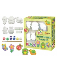 Image of 6 x Garden Friends Plaster Painting Sets