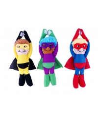 Image of 12 x Plush Super Heroes