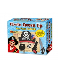 Image of 6 x Foam Pirate Dress Up Craft Kits