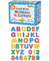 Image of 6 x Foam Bath Numbers & Letters