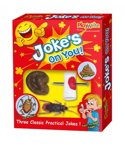 12 x Jokes On You 3 Pce Joke Set