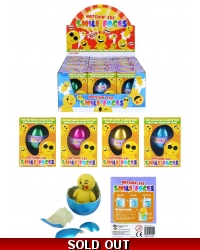 Image of 12 x Growing Emoji Man Eggs 65mm