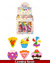 Image of 216 x Sweet Shop Erasers