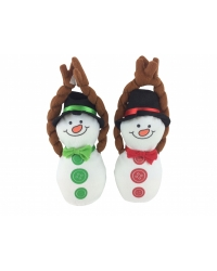 Image of 12 x Plush Hanging Snowman