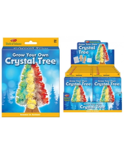 12 x Grow Your Own Crystal Trees