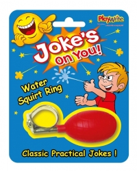 Image of 24 x Joke Water Squirt Rings