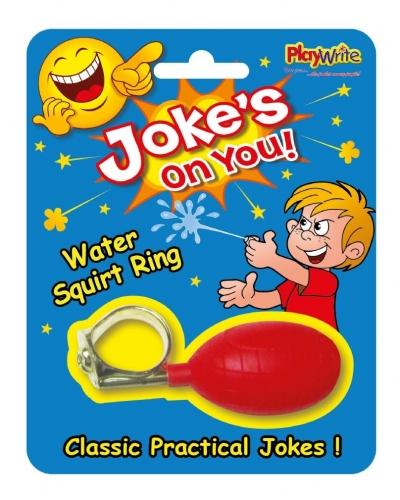 24 x Joke Water Squirt Rings
