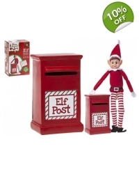 Image of 12 x Christmas Elf Post Boxes