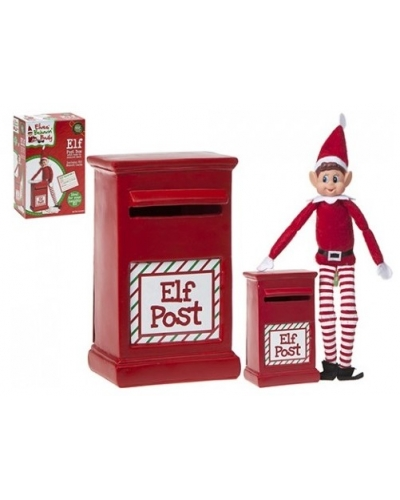 12 x Christmas Elf Post Boxes