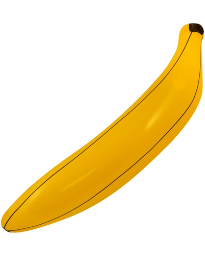 12 x Inflatable Bananas 80cm