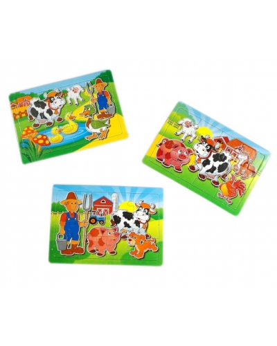 120 x Farm Animal Jigsaws
