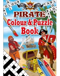 Image of 24 x Pirate A6 Colour & Puzzle Books