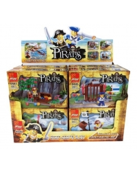 Image of 12 x Pirate Building Brick Kits