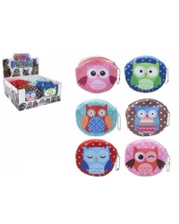 Image of 24 x Owl Coin Purses