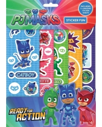 12 x PJ Masks Sticker Fun