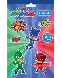 12 x PJ Masks 700 Stickers