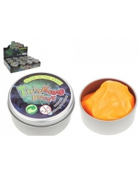 Image of 12 x Glow In The Dark Smart Putty In Tin