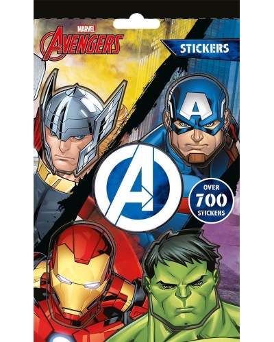 12 x Marvel Avengers 700 Stickers