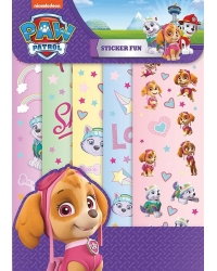 Image of 12 x Paw Patrol Skye Sticker Fun