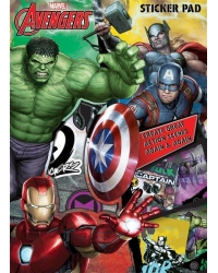 Image of 12 x Marvel Avengers Sticker Pads