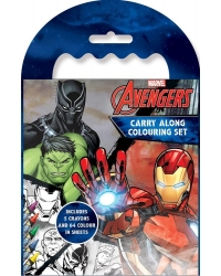 12 x Marvel Avengers Carry Along Colou..